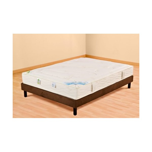 matelas et sommier mousse memoire de forme 200x200 ets. Black Bedroom Furniture Sets. Home Design Ideas